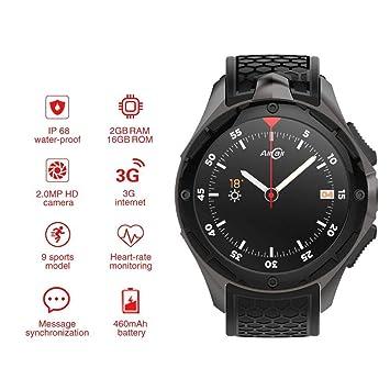 OJBDK Smart Watch Bluetooth IP68 a Prueba de Agua Teléfono ...