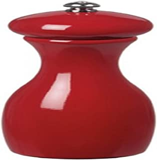 product image for Fletchers' Mill Marsala Collection Salt Mill, Cinnabar - 7 Inch, Adjustable Coarseness Fine to Coarse, MADE IN U.S.A.