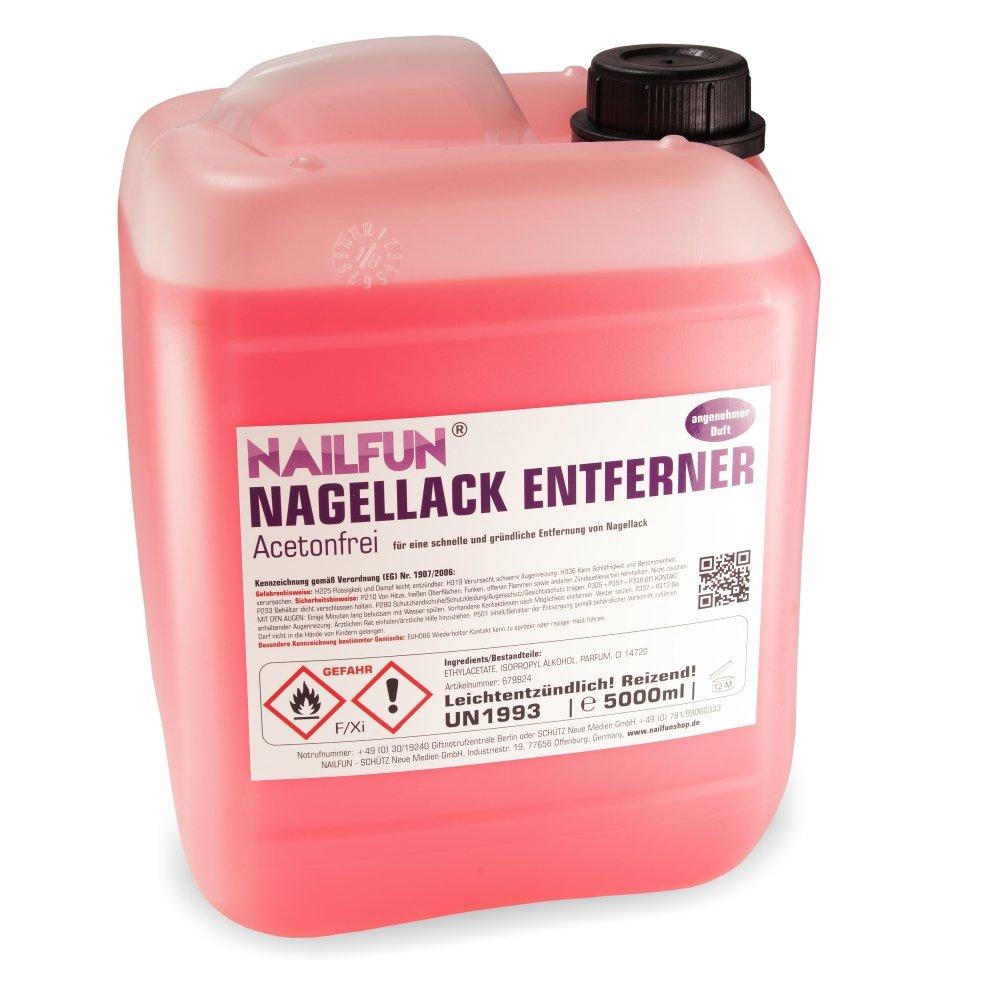5 Liter Nagellackentferner mit Duft - Polish-Remover 5000ml ...