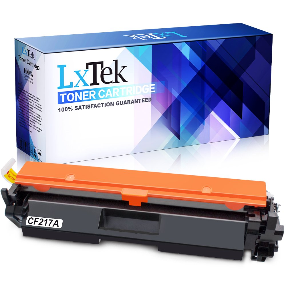 LxTek Compatible for HP 17A CF217A Toner Cartridge, Used in HP Laserjet Pro M102w M130fw M130nw M130fn M130a M102a Printer, Laserjet Pro MFP M130fw M130nw M130fn Printer (Black, High Yield, With Chip)