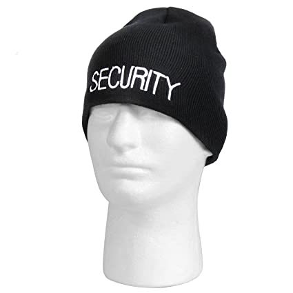 bc29fed6f37 Image Unavailable. Image not available for. Color  Rothco Embroidered  Security Acrylic Skull Cap