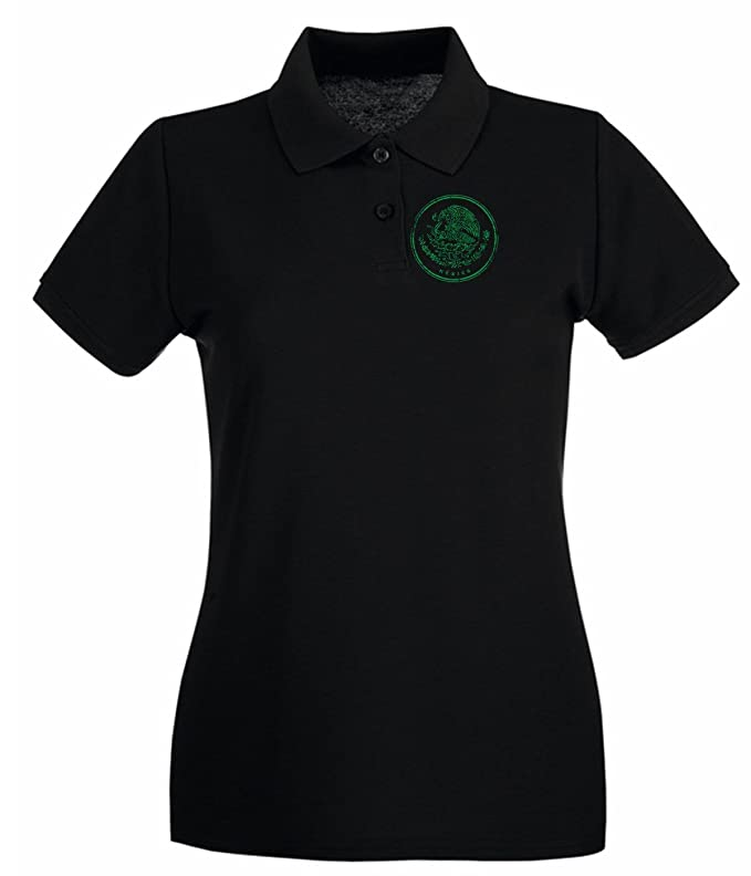 T-Shirtshock - Polo para mujer WC0500 MEXICO T-SHIRT MEXICO ICON ...