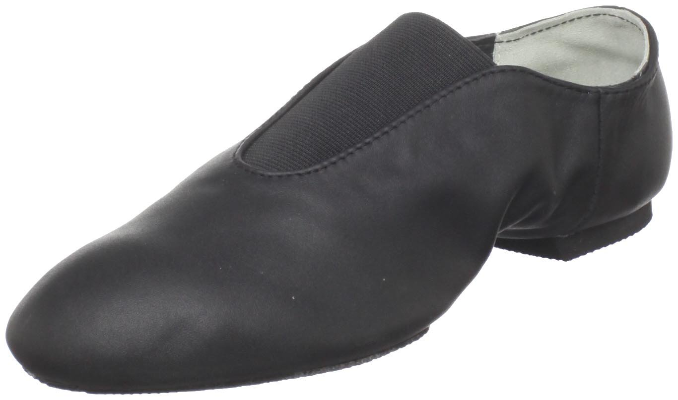 Dance Class Women's GS401 Center Gore Jazz Shoe,Black,7.5 M US