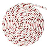 WindRider Ropes 3/8'' (10mm) Double Braid Line - Red Fleck (130FT)