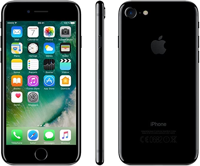 Apple iPhone 7 128GB Jet Black (Reacondicionado): Amazon.es ...