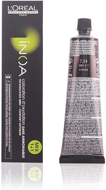 LOréal Professionnel Inoa Coloration dOxydation Sans Ammoniaque 7.24 Tinte - 60 gr
