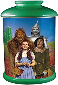 Spoontiques Wizard of Oz Cookie Jar, One Size, Multicolored