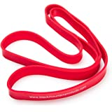 Black Mountain Products Strength Loop Resistance Band, Red, 1 inch