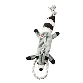 """SPOT Ethical Pets Forest Raccoon Skinneeez Tugs Stuffingless Dog Toy, 23"""""""