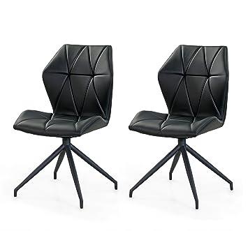 Lifestyle4living Stühle, Esszimmerstühle, 2er Set, Stühle, Sitzgelegenheiten,  Esszimmer, Essbereich