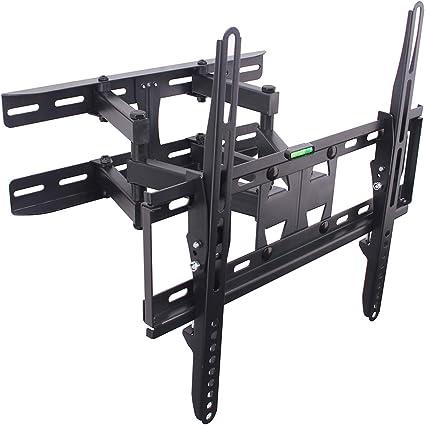 Tilting 15° Full Motion 180° Swivel Articulating TV Wall Mount Bracket for 32-70
