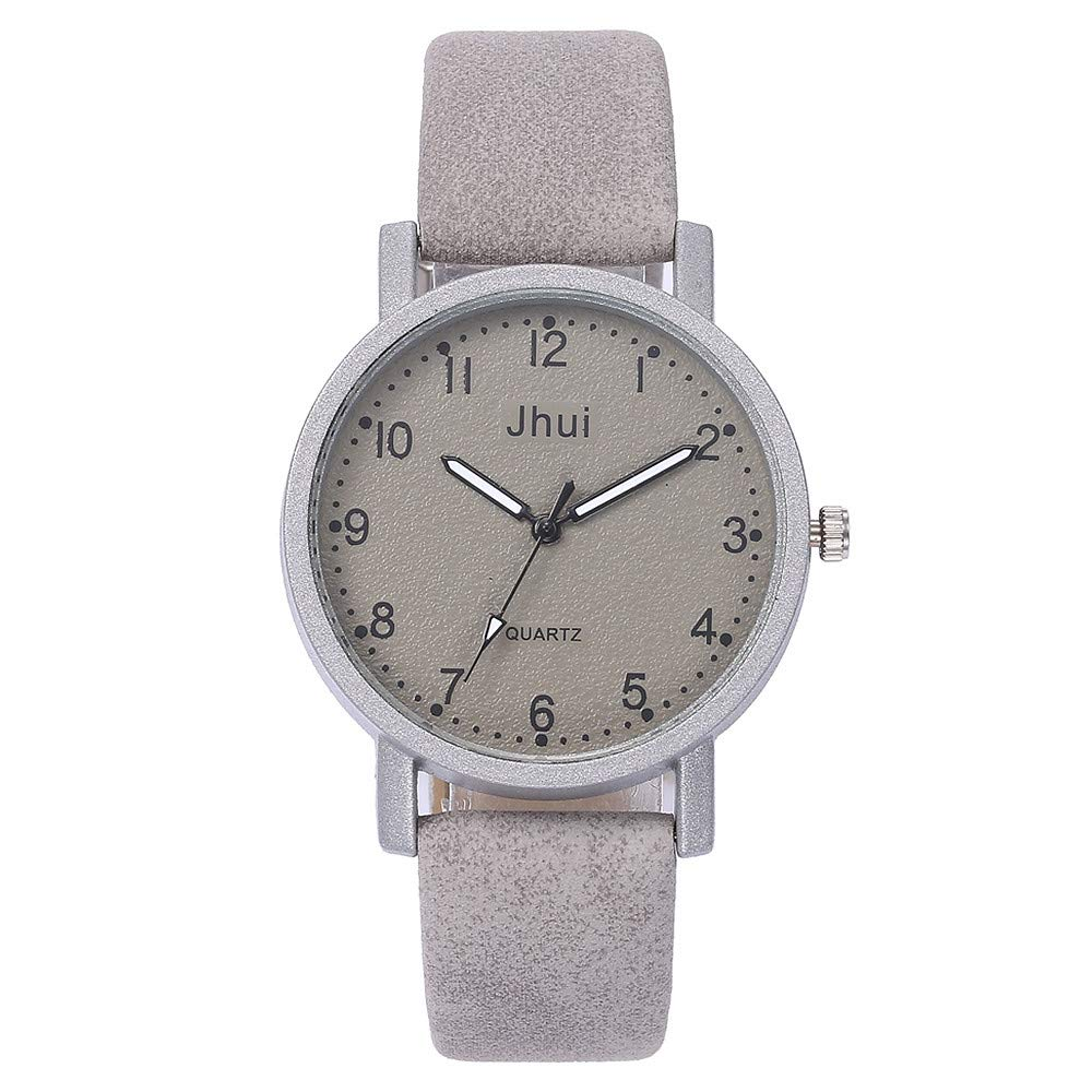 Women's Casual Quartz Leather Band New Strap Watch Stainless