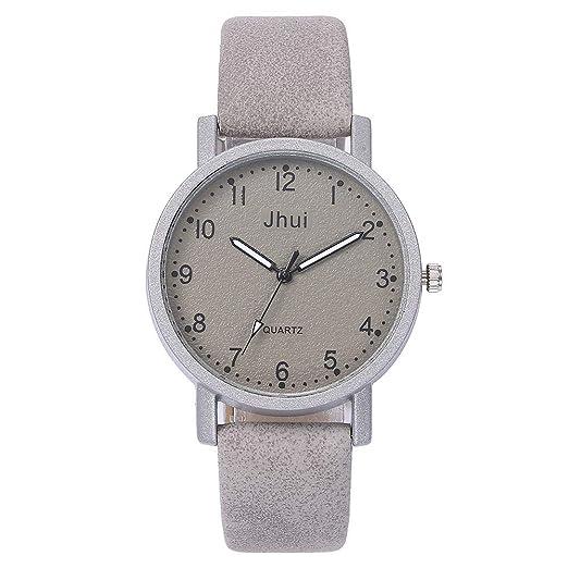 VEHOME Reloj Casual para Mujer - Correa de Cuero - Estilo de Moda-Mujeres Relojes Inteligentes relojero Reloj reloje de Pulsera Marcas Deportivos Relojes ...