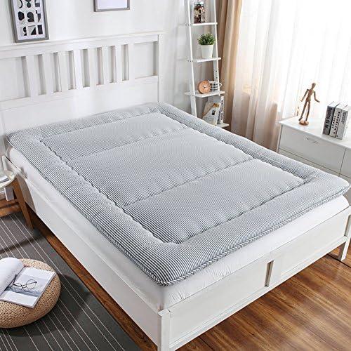 折りたたみ式和風畳マットレス,綿厚く睡眠マット床マット学生寮,肌に優しい,ダニアレルギー対策,スリップ-C 150*200cm