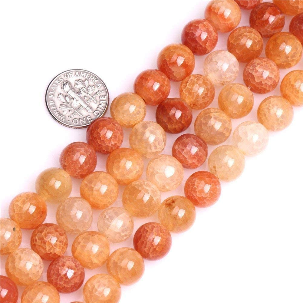 """14/"""" Strand Dragon Vein Agate Faceted Gemstone 6mm Rounds Approx 62 Beads"""