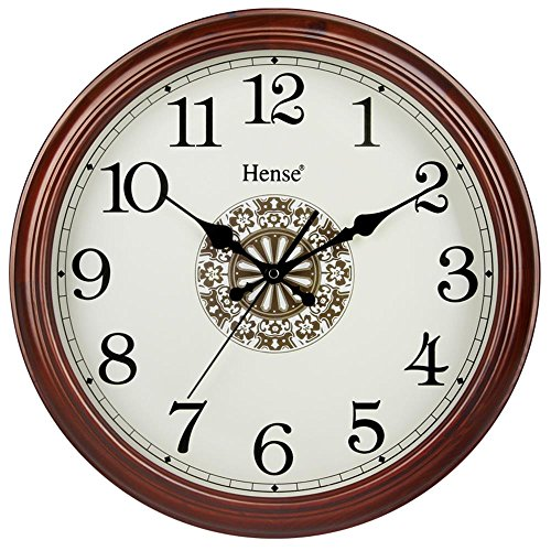 16 inch Non ticking Movement Decorative HW15 Brown product image