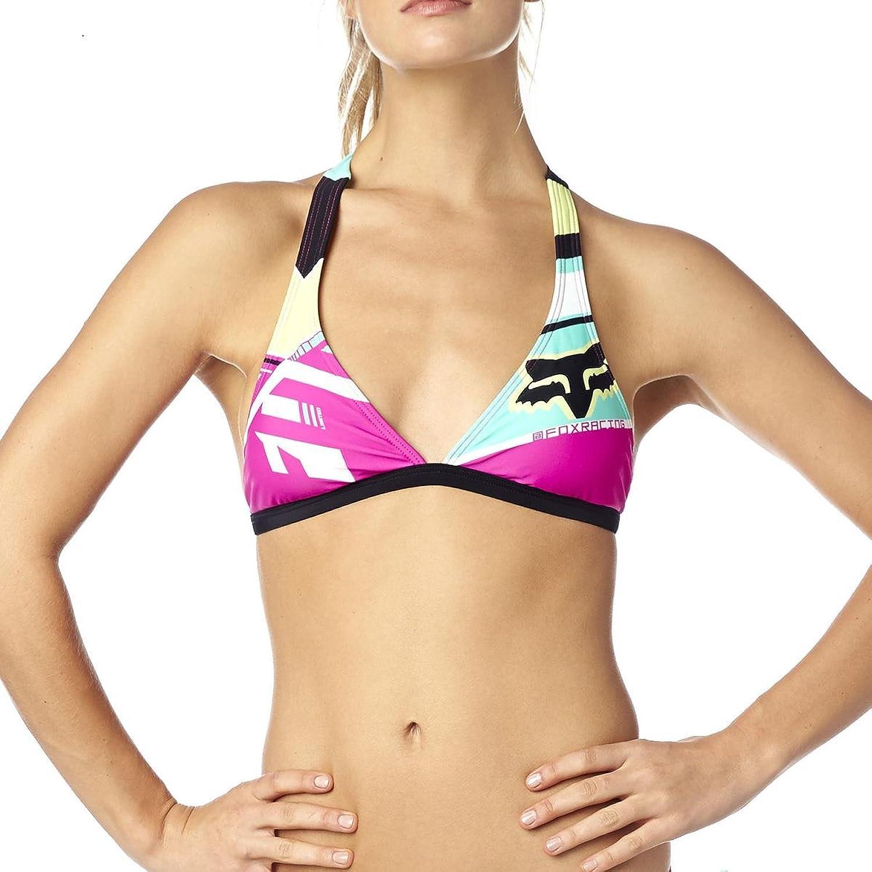 Fox Girls Bikini-Oberteil Divizion Fixed Fuchsia
