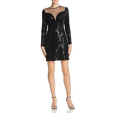 bd4c7de8e8d Michael Michael Kors Womens Velvet Sequined Cocktail Dress at Amazon  Women s Clothing store