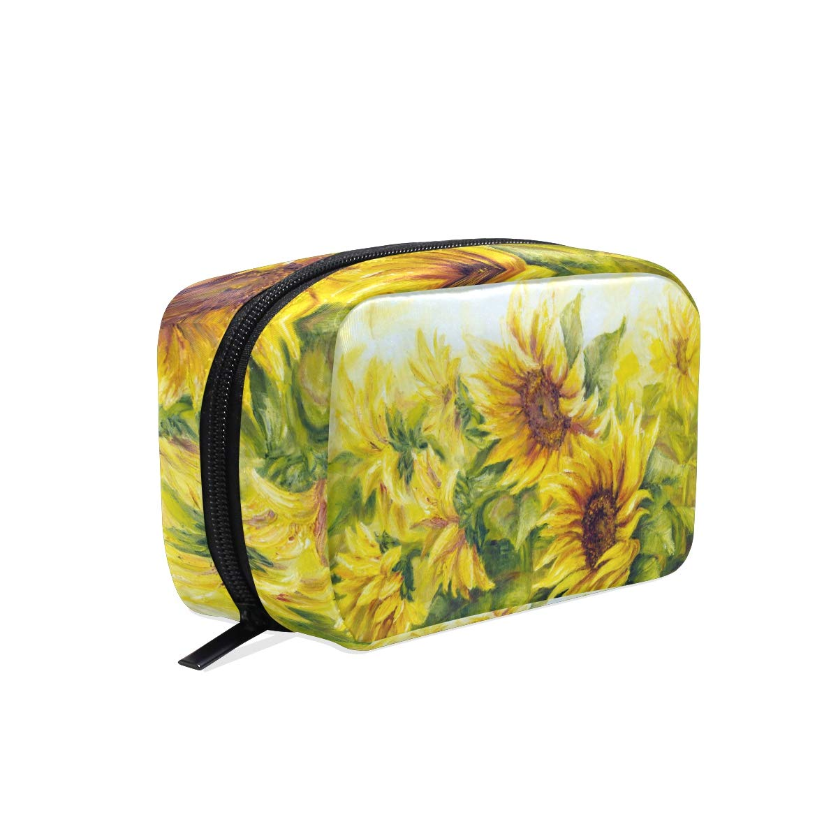 Sunflowers /& Dragonfly Carry Lightweight Large Capacity Portable Travel Luggage Trolley Bag