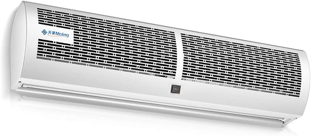 Cortina de aire Lxn Blanca//Super Fina de Caja de Metal Comercial//dom/éstica de 2 velocidades con Interruptor de bot/ón silenciosa Peso Ligero Potente Cuerpo peque/ño