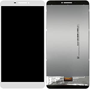 Linmatealliance LCD Screen LCD Replacement Touch Screen Replacement LCD Repair Broken LCD Screen and Digitizer Full Assembly for Lenovo Phab / PB1-750M / PB1-750N(Black) LCD (Color : White)
