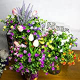 Artificial Flowers, Fake Outdoor UV Resistant