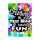 ARGUS Creativity Is Your Mind Poster (1 Piece), 13.38