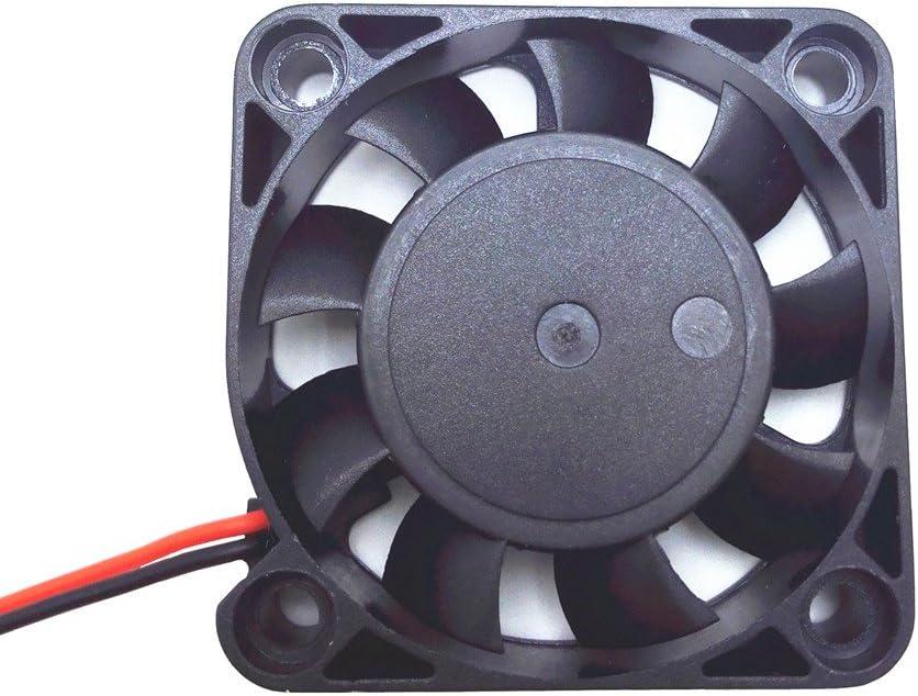 Solanton 5V 0.14A 40x40x10mm pequeño Micro Ventilador refrigerante 4cm 4010 sin escobillas DC USB Ordenador portátil Ventilador refrigerador 40mm x 10mm