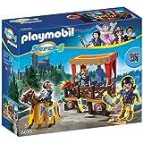 PLAYMOBIL® Super 4 Royal Tribune with Alex Figure Building Kit