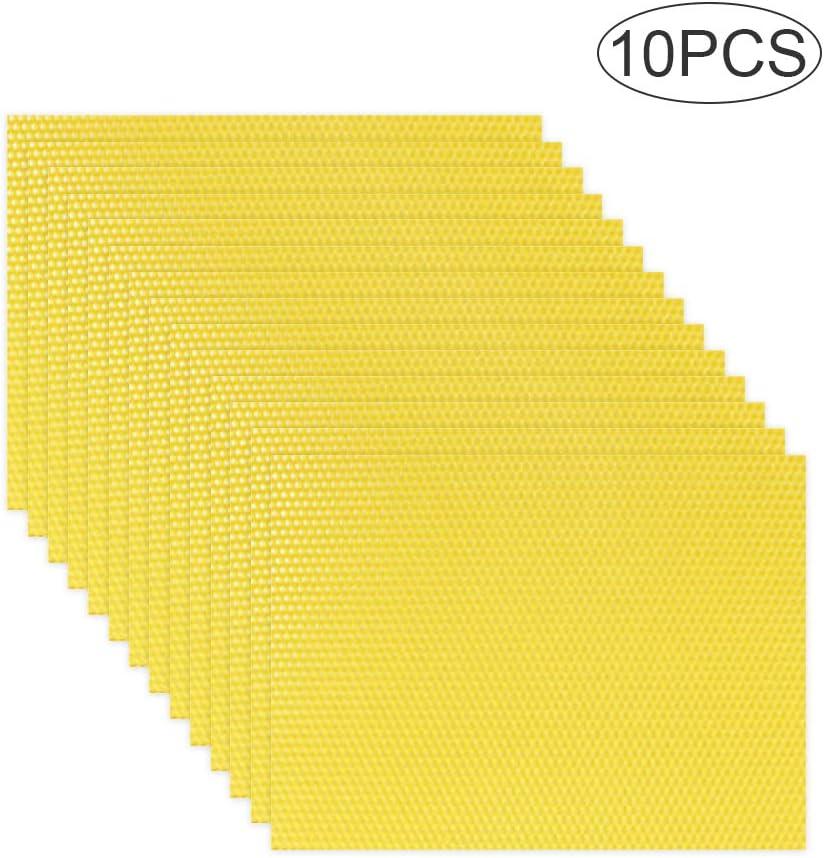 10pcs Comb foundation Honeycomb For Apis mellifera Apiculture Bees wax