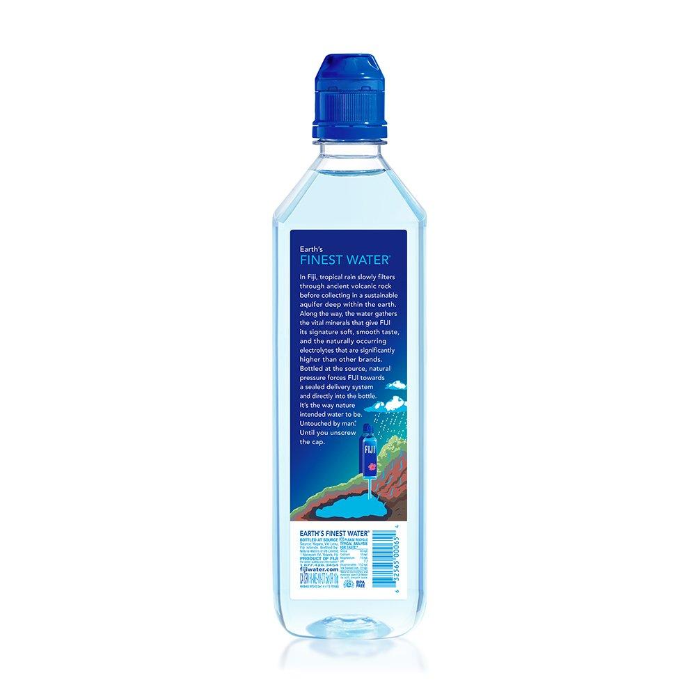 FIJI Natural Artesian Water, 23.7 Fl Oz (Pack of 12) by FIJI Water (Image #2)
