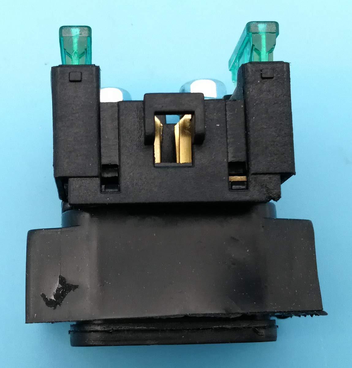 Tuzliufi Replace Starter Solenoid Relay Yamaha 600 650 700 1100 1300 1600 1700 VMX17 V-MAX VK VK10L V-STAR VT600 VT700 VX600 VX700 XV17 XV19 XV1600 XV1700 XV1900 XVS11 XVS650 XVS1100 XVZ1300 New Z257
