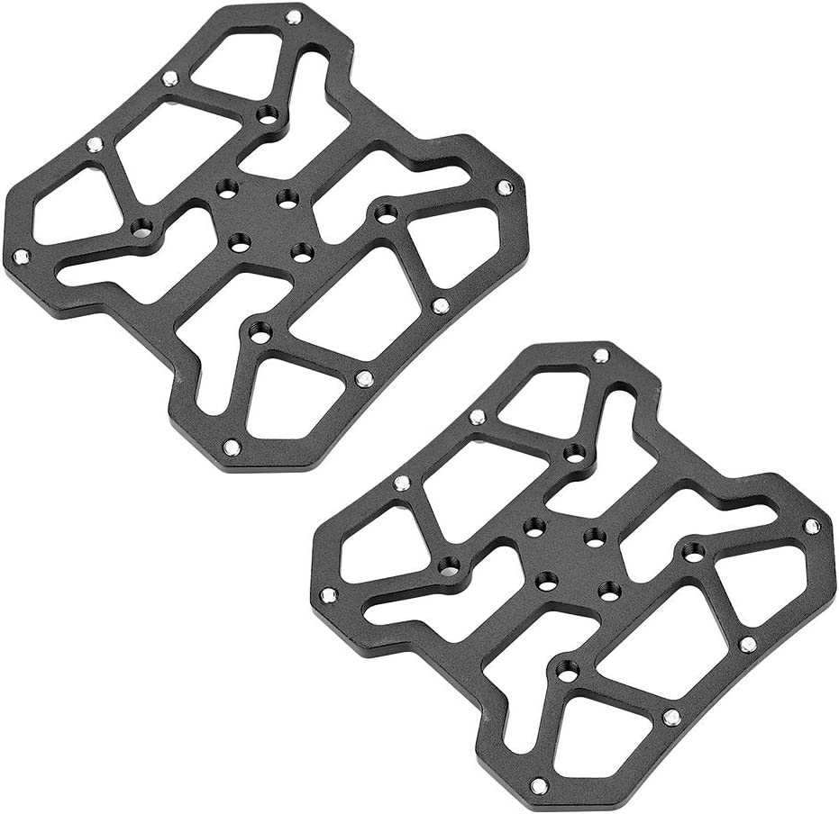 Aluminum Alloy Bike Bicycle Pedal Adapters for SPD 1Pair Clipless Platform Adapters