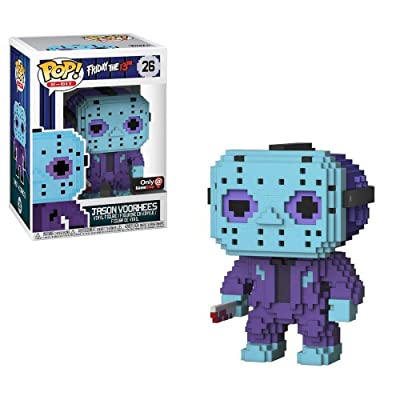 Funko POP! 8-Bit: Friday the 13th - Jason Voorhees (NES Colors)-Exclusive: Toys & Games