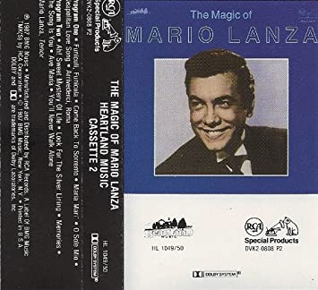 The Magic of Mario Lanza Original recording reissued