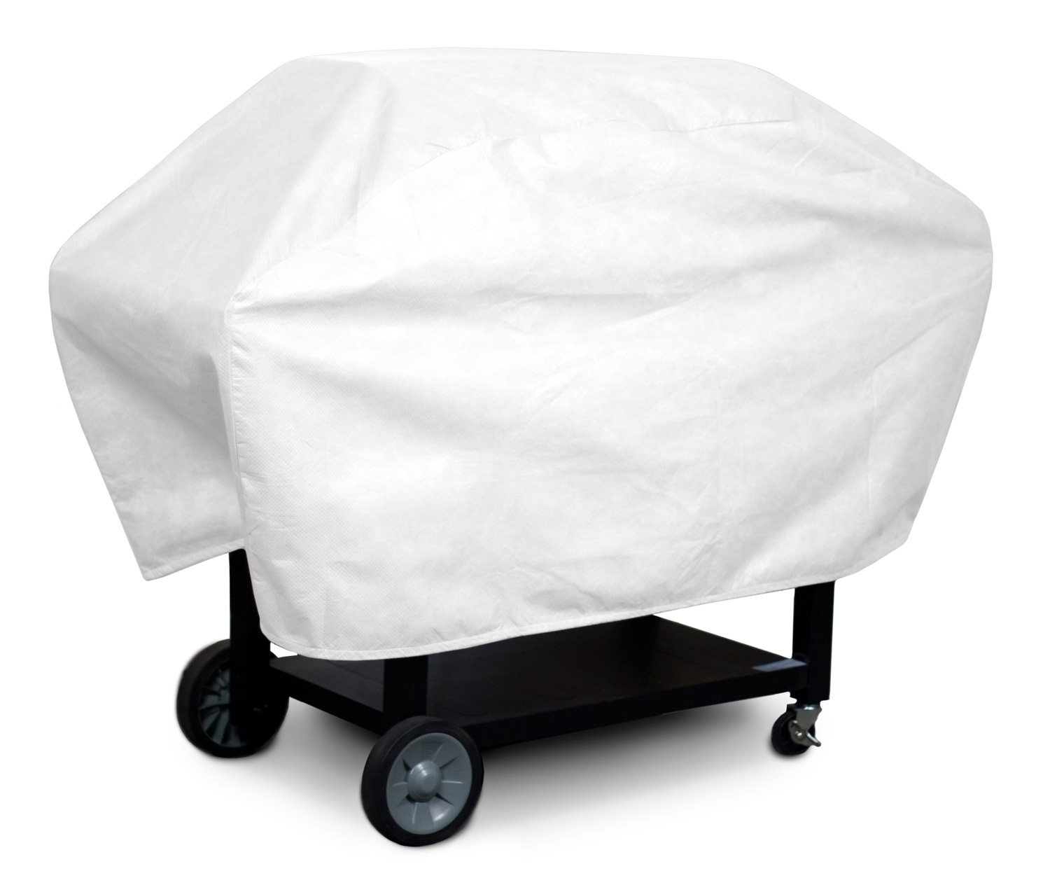 amazoncom koverroos dupont tyvek medium barbecue cover 23inch diameter by 53inch width by 35inch height white outdoor grill covers patio - Bbq Covers