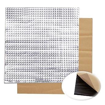 200 x 200 x 10 mm papel de aluminio autoadhesivo aislante de calor ...
