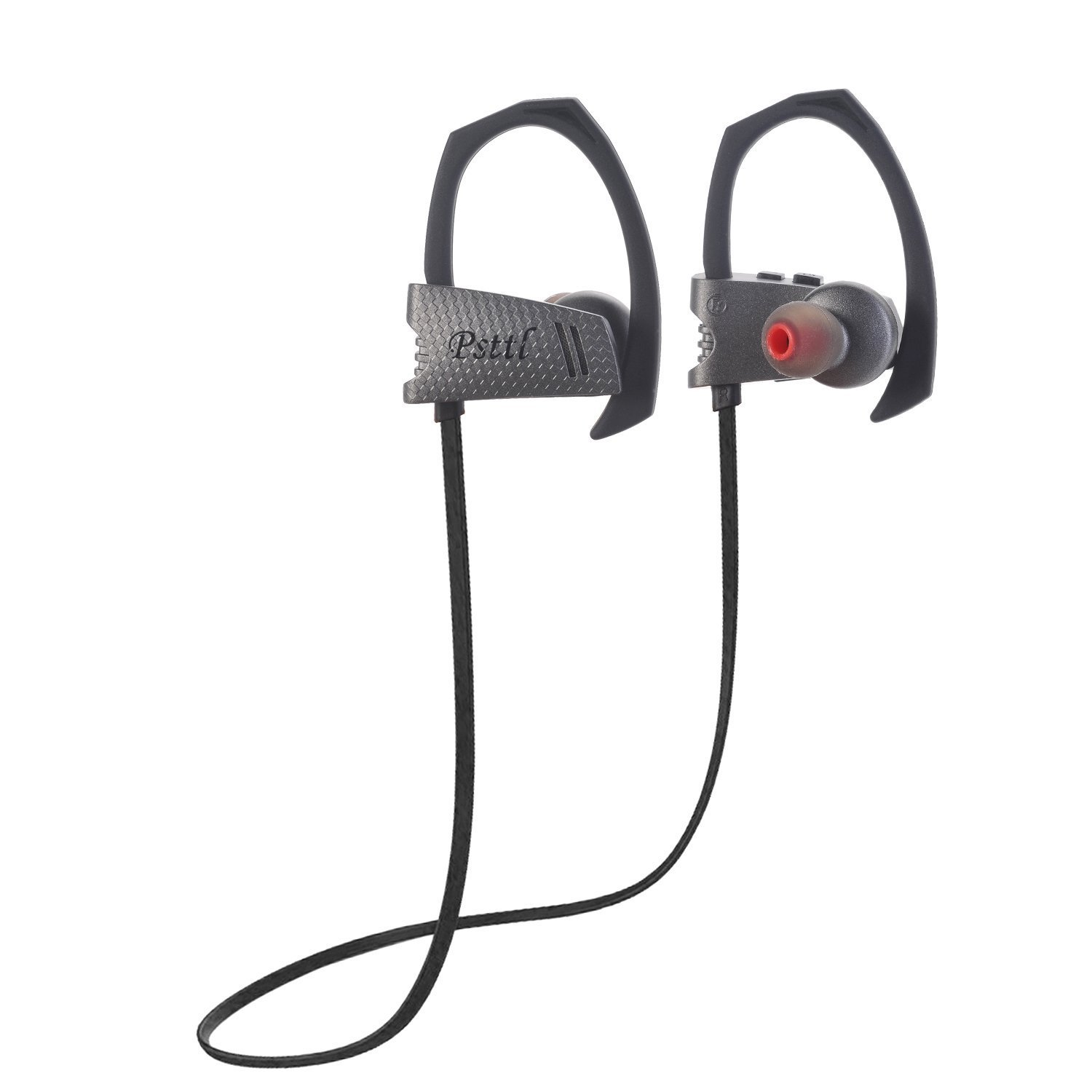 Bluetooth HIFI Stereo Earbuds (Q9-Gray) Clip On Ear Used for Sports Running Workout Sweat Proof/These All Sound Equally as Great!!! 80% less than Beats with same sound quality!