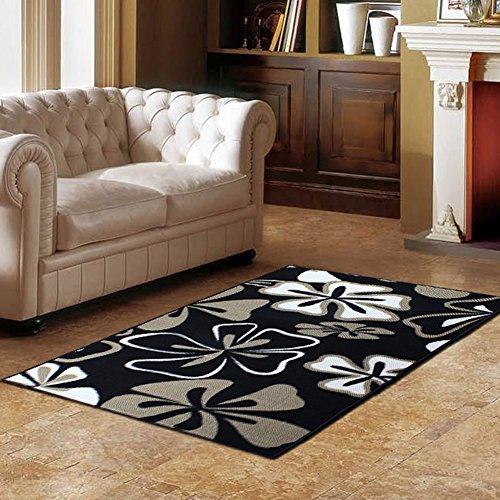 NRQU Door mat,Gate pad,Rug,Living room,Tea table,Den pad,[absorbent],Non-slipping blanket,Indoor mat,[child],Bedroom,Environmental mats-A 80x160cm(31x63inch) by NRQU (Image #1)
