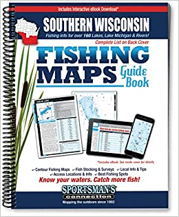 Southern Wisconsin Fishing Map Guide: Sportsman's Connection