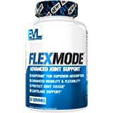 Evlution Nutrition Flex Mode, Advanced All-In-One Joint Support, Mobility & Pain Relief, Glucosamine, Chondroitin, Turmeric, MSM, Boswellia, Hyaluronic Acid (90 Capsules)