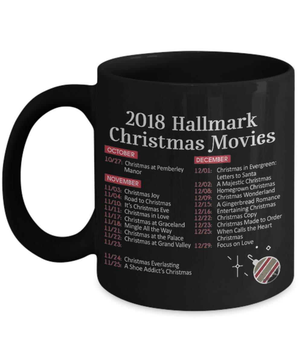 2018年 Hallmark クリスマス映画 コーヒーマグ ホールマーク ホールマーク ホールマーク ホールマーク 映画、ホールマーク クリスマス、クリスマス、クリスマス映画、クリスマス。 B07JPHM8BW