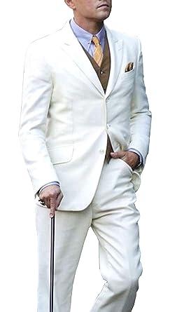 Best Jackets - Traje - para Hombre Blanco Blanco XXX-Large ...