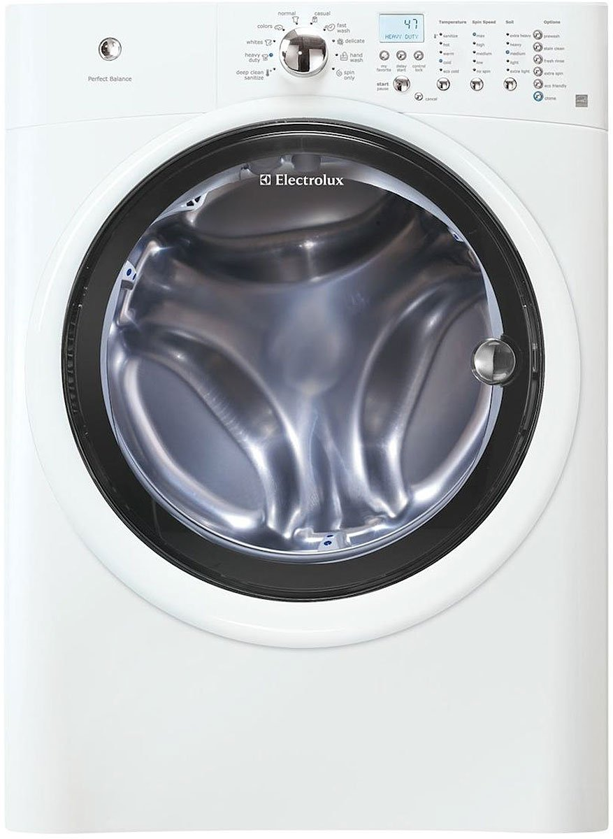Washer And Dryer Dimensions Front Loading Amazoncom Electrolux Eiflw50liw Iq Touch 42 Cu Ft White