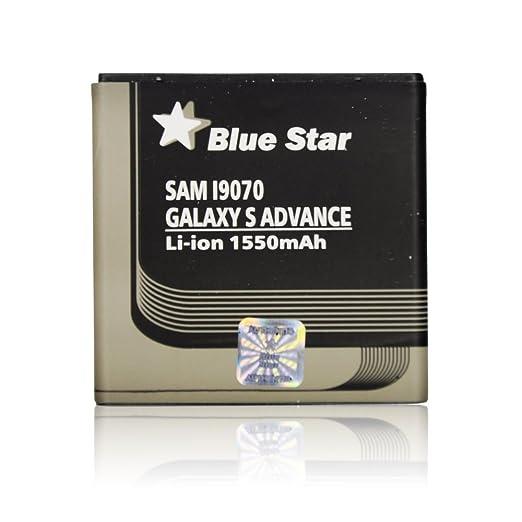 20 opinioni per Blue Star Premium- Batteria per Samsung Galaxy S Advance, Li-Ion 1550 mAh