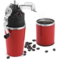 Chulux All-in-One Portable Coffee Grinder / Brewer Combo