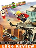 LEGO Marvel Avengers Attack On Avengers Tower Review (76038)