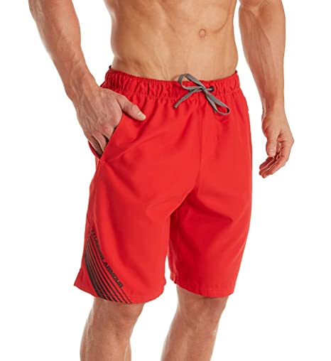 047f0119cb Under Armour UA Mania Volley Short - Men's Red / Graphite / Black Small