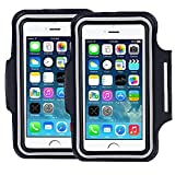 [2 pack]Premium Running iPhone 6S 6 (4.7'') iPhone 6S plus(5.5'')Sports armand,iPhone 5/5C/5S 4, 4S samsung Galaxy S3, S4 s5 s6 s7, Water Resistant Proof Key HolderID Credit Card Money Holder