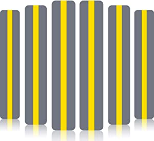 18 Pack Reading Guide Strips Colored Overlay Highlight Bookmarks Reading Strips Help with Dyslexia for Crystal Children and Teacher Supply (Yellow)